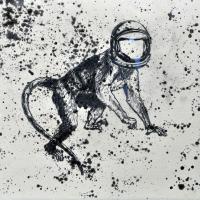 Agnus Dei 3, graphite sur papier, approx. 26 x 36cm, 2012