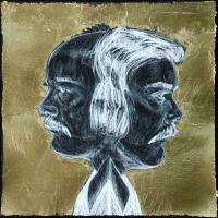 Du plomb dans le corps/Des fleurs dans la tête 13, graphite et acrylique sur papier, approx. 36 x 36cm, 2006