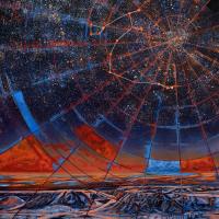Ciel étoilé sur une terre mangée d'avance, acrylique et huile sur toile, 186 x 122cm, 2007