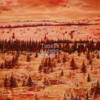 Perdus dans la toundra, acrylique et huile sur toile, 137 x 183cm, 2007