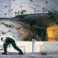 La compagnie des blanc-couvreurs, huile sur toile, 213 x 275cm, 2003