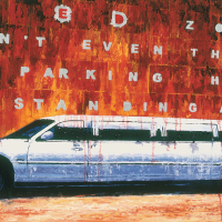 Penses-y même pas/Don't Even Think, huile sur toile, 83 x 152cm, 2003