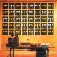 Le bureau du très honorable conspirateur, huile sur toile, 83 x 152cm, 2004