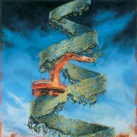 Les mangeurs de civilisation 1, huile sur toile, 122 x 122cm, 2004