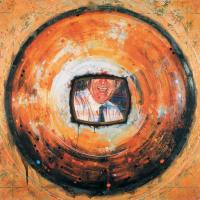 Vortex administration 2, acrylique et huile sur toile, 152 x 152cm, 2004