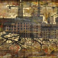 From China with Love 17, graphite, acrylique et huile sur bois, 122 x 214cm, 2011