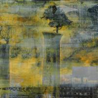 From China with Love 8, graphite, acrylique et feuille d'aluminium sur bois, 90 x 180cm, 2010