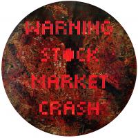 La tempête parfaite/Reikjavik, graphite et acrylique sur bois, tondo , 50cm, 2012