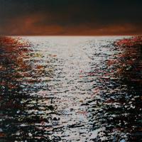 Le sursis, acrylique et huile sur toile, 137 x 91cm, 2008
