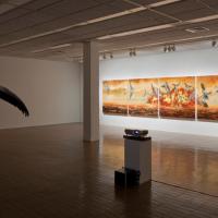 Vue de l'exposition La persistance d'un battement d'ailes, Plein sud, Longueuil, 2009