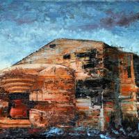 Le principe de la neutralité 3, acrylique et huile sur toile, 30 x 45cm, 2009