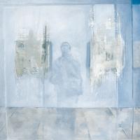 L'ambiguïté d'un égocentrique 2, huile sur toile, 60 x 60cm, 2001