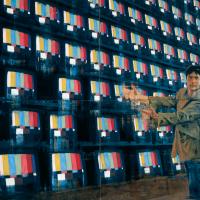 À propos de rien, huile sur toile, 183 x 244cm, 2000