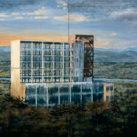 Le caractère approximatif des choses, huile sur toile, 183 x 244cm, 2000