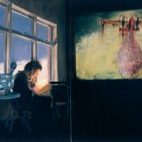 39roseobscur_Rose obscur, huile sur toile, 152 x 213cm, 2000.com