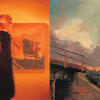 THINK: l'illusion d'une profondeur, huile sur toile, 140 x 280cm, 1999