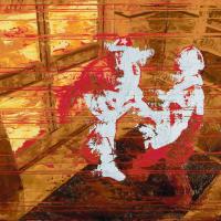 Collision avec soi-même, huile sur toile, 41 x 51cm, 2006