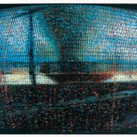 Random 6, huile sur toile, 35,5 x 46cm, 2002