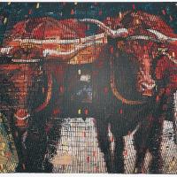 Random 10, huile sur toile, 35,5 x 46cm, 2002