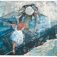 Random 11, huile sur toile, 35,5 x 46cm, 2002