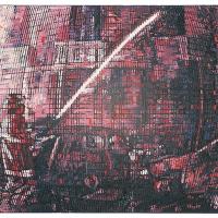 Random 13, huile sur toile, 35,5 x 46cm, 2002