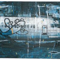 Random 14, huile sur toile, 35,5 x 46cm, 2002