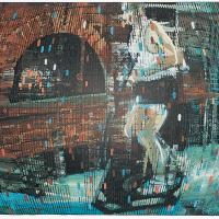 Random 15, huile sur toile, 35,5 x 46cm, 2002