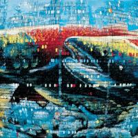 Random 17, huile sur toile, 35,5 x 46cm, 2002