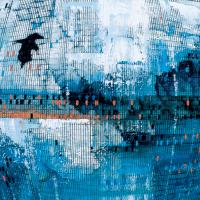 Random 18, huile sur toile, 35,5 x 46cm, 2002
