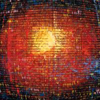 Random 25, huile sur toile, 35,5 x 46cm, 2002