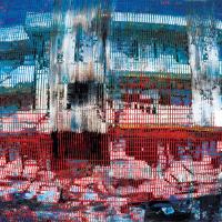 Random 26, huile sur toile, 35,5 x 46cm, 2002