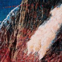 Random 28, huile sur toile, 35,5 x 46cm, 2002