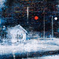 Random 32, huile sur toile, 35,5 x 46cm, 2002